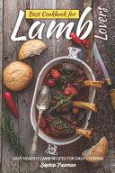 Best Cookbook for Lamb Lovers