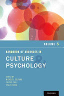 Pdf Handbook of Advances in Culture and Psychology Telecharger