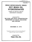 Soy Bean Oil  Hydrogenated Book