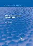 The Transcendence of the Cave  Routledge Revivals