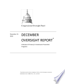 Review of the Department of the Treasury's Foreclosure Prevention Programs