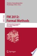 FM 2012  Formal Methods
