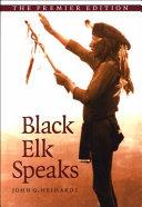 Black Elk Speaks Book PDF