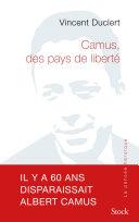 Pdf Camus, des pays de liberté Telecharger