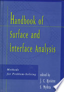 Handbook of Surface and Interface Analysis Book