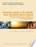 Monetary Issues In The Middle East And North Africa Region Book PDF