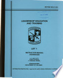 Leadership Education and Training  LET  1