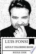 Luis Fonsi Art Adult Coloring Book