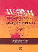 Wear of Materials