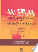 """Wear of Materials"" by P Blau, Peter J. Blau, R G Bayer"