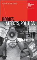 Pdf Bodies, Affects, Politics Telecharger