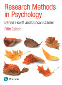 Research Methods in Psychology Book PDF