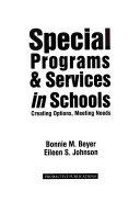 Special Programs   Services In Schools
