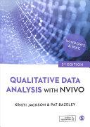 Qualitative data analysis withNVivo (2019)