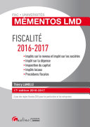 Mémentos LMD - Fiscalité 2016-2017