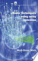 Radar Techniques Using Array Antennas (FEE Radar, Sonar, Navigation & Avionics Series)
