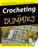 """""""Crocheting For Dummies"""" by Susan Brittain, Karen Manthey"""