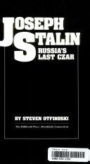 Joseph Stalin Book
