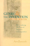 Genre And The Invention Of The Writer