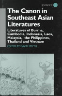 The Canon in Southeast Asian Literatures