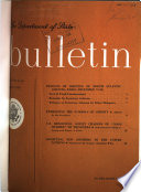 The Department of State Bulletin Book PDF