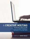 A Creative Writing Handbook Book