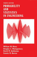 PROBABILITY AND STATISTICS IN ENGINEERING  4TH ED