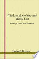 The Law Of The Near And Middle East