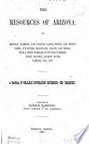 The Resources of Arizona Book