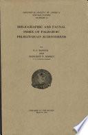 Bibliographic and Faunal Index of Paleozoic Pelmatozoan Echinoderms
