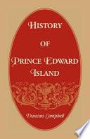 History Of Prince Edward Island