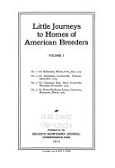Little Journeys To Homes Of American Breeders