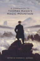 A Companion to Thomas Mann's The Magic Mountain Pdf/ePub eBook