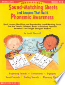 Irrestible Sound Matching Sheets and Lessons That Build Phonemic Awareness