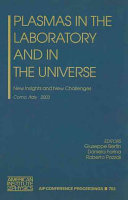 Plasmas in the Laboratory and in the Universe
