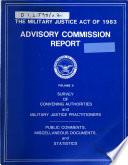 Advisory Commission Report
