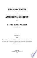 Transactions of the American Society of Civil Engineers  , Band 141