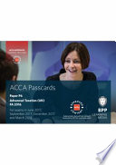 ACCA P6 Advanced Taxation FA2016