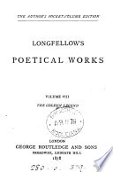 The poetical works of Henry Wadsworth Longfellow  Author s pocket vol  ed