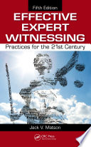 Effective Expert Witnessing Book PDF