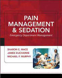 Pain Management and Sedation  Emergency Department Management Book