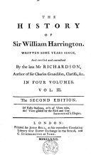 The History of Sir William Harrington :