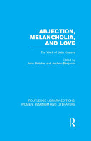 Pdf Abjection, Melancholia and Love Telecharger