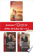 Harlequin Desire April 2016   Box Set 1 of 2 Book
