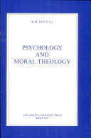 Psychology and Moral Theology