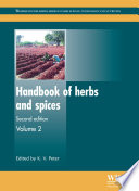 """Handbook of Herbs and Spices"" by K. V. Peter"