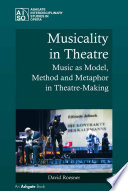 Musicality in Theatre Book PDF