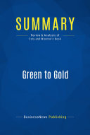 Summary  Green to Gold