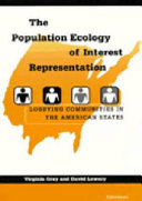 The Population Ecology of Interest Representation Book