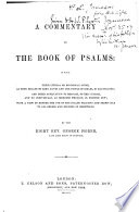 A Commentary on the Book of Psalms     Book PDF